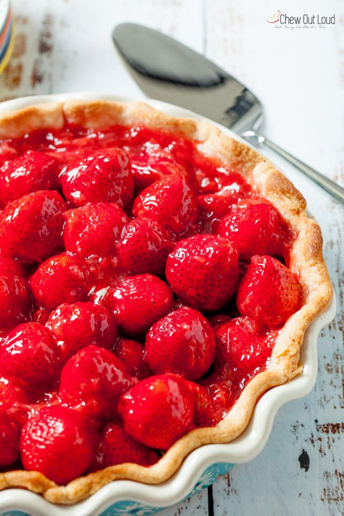 fresh strawberry pie recipe, homemade strawberry pie, best strawberry pie, easy strawberry pie