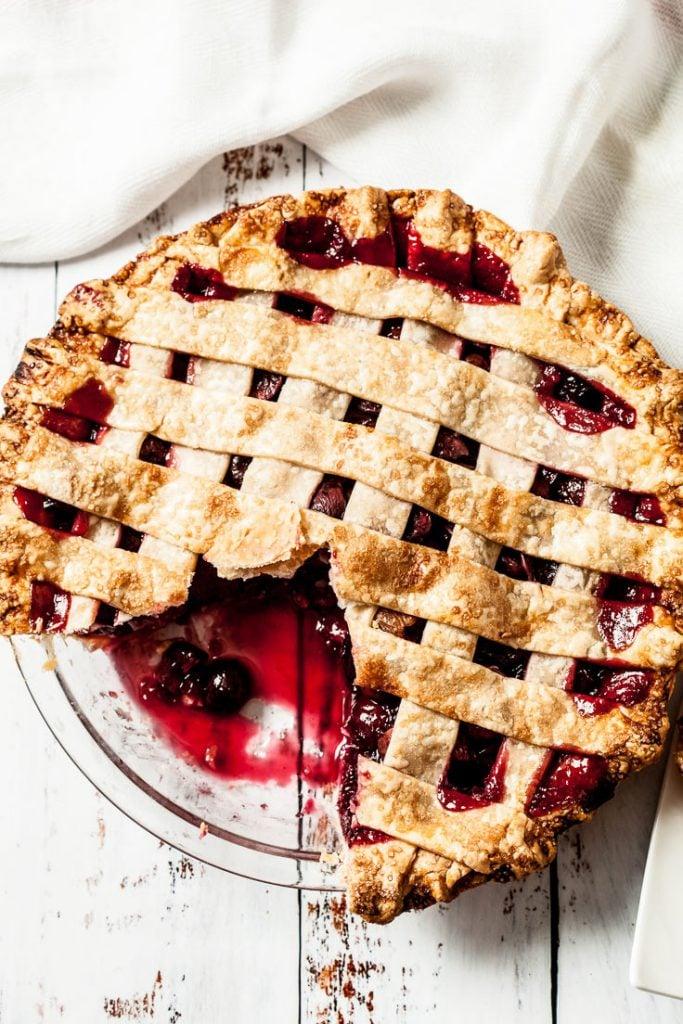 sweet cherry pie recipe how to make cherry pie