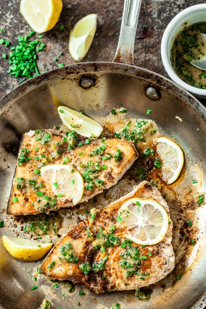 Lemon Garlic Swordfish Recipe Chew Out Loud