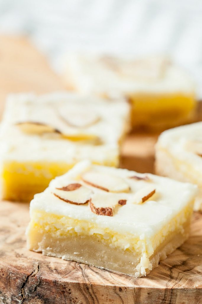 almond dessert bars recipe almond bars