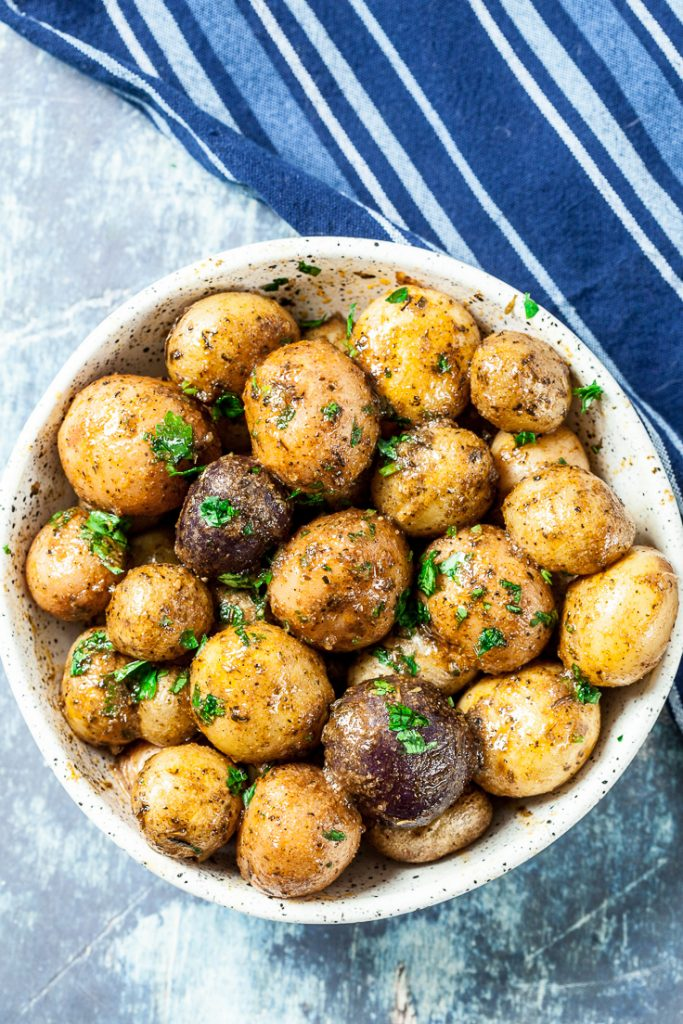 Instant Pot Baby Potatoes Recipe Chew Out Loud