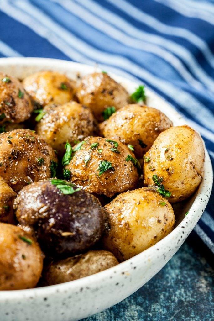 instant pot potatoes recipe, instant pot baby potatoes