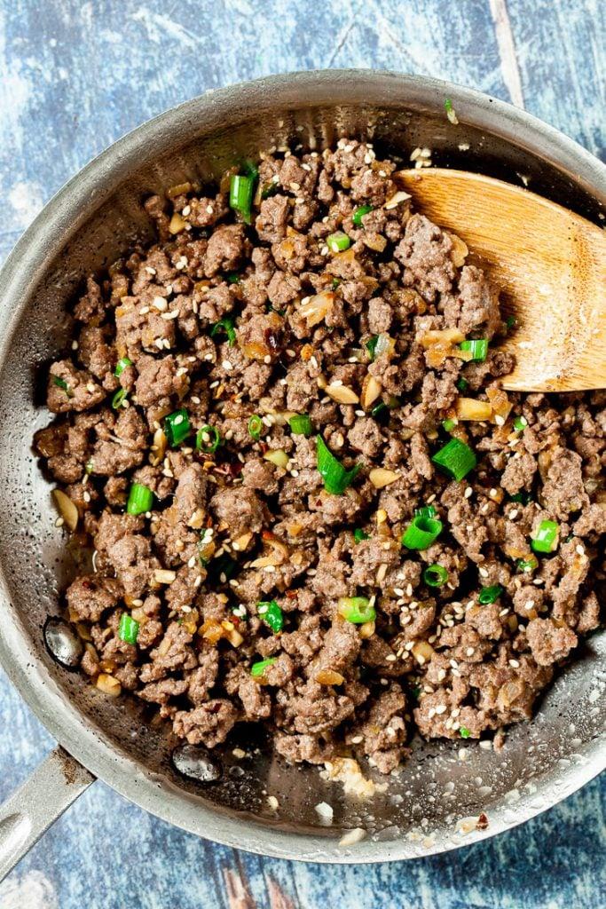 korean beef bowl ground beef recipe asian beef recipe