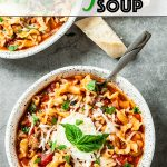 the best lasagna soup