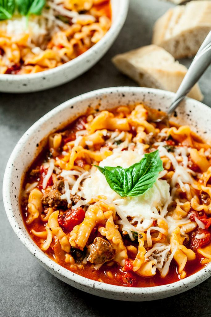best lasagna soup recipe