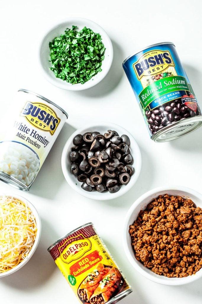 mexican breakfast casserole, enchilada breakfast casserole, overnight breakfast casserole