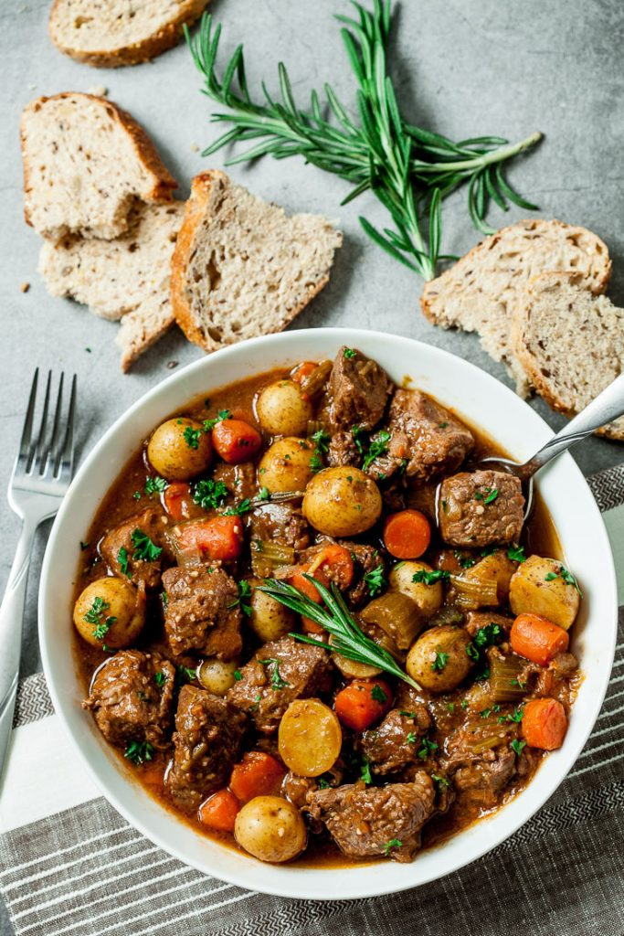 Irish Guinness Beef Stew Stovetop Slow Cooker Or Instant Pot Chew Out Loud
