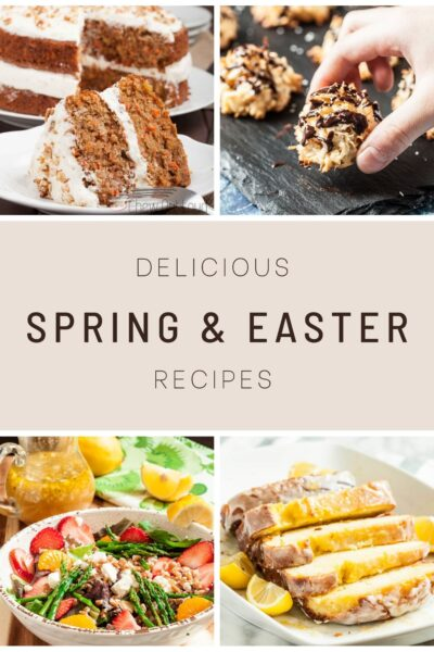 spring easter recipes collection