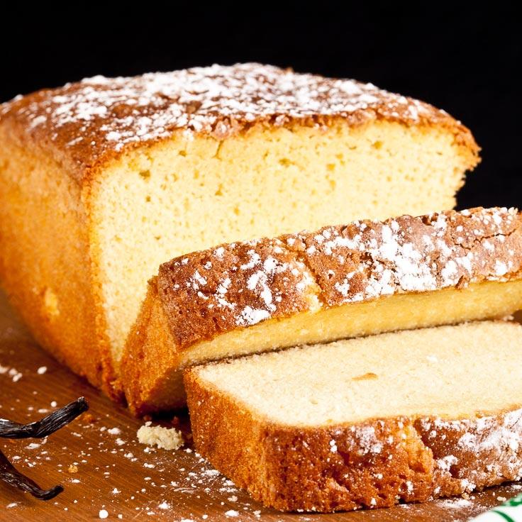 butter pound cake, pound cake recipe, easy pound cake, vanilla pound cake
