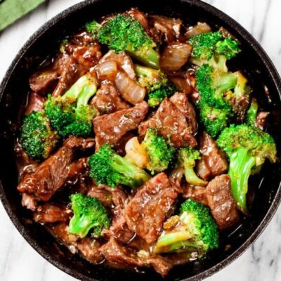 30 Minute Beef And Broccoli Stir Fry Chew Out Loud