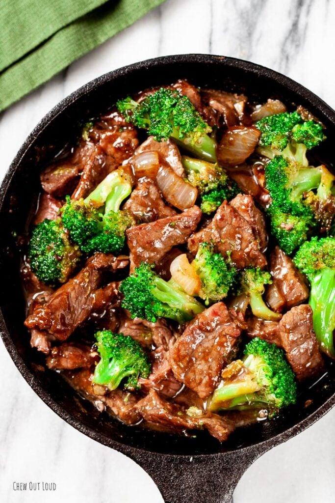 beef and broccoli stir fry, broccoli beef, beef and broccoli recipe