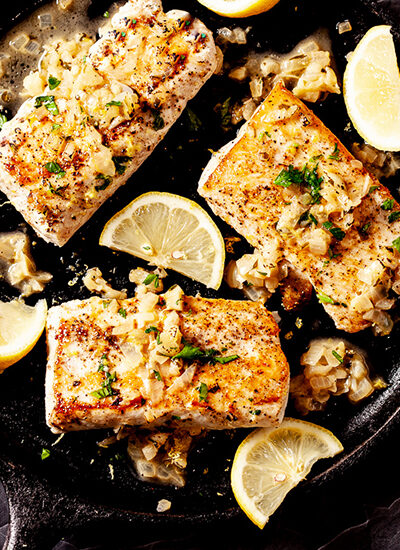 cod, fish, cod recipe, pan fried cod