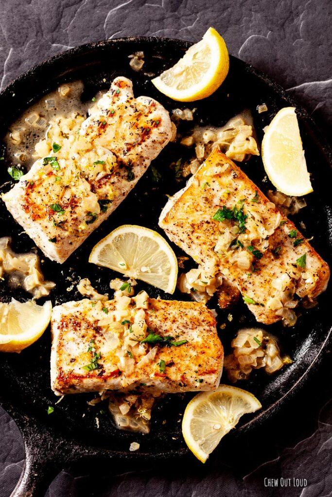 cod, fish, cod recipe, pan fried cod