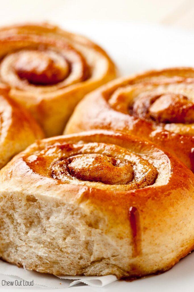 homemade cinnamon rolls, cinnamon rolls with cream cheese frosting, cooks illustrated cinnamon rolls, americas test kitchen cinnamon rolls