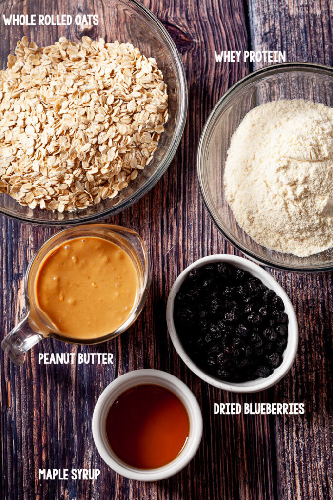 Protein Bars ingredients