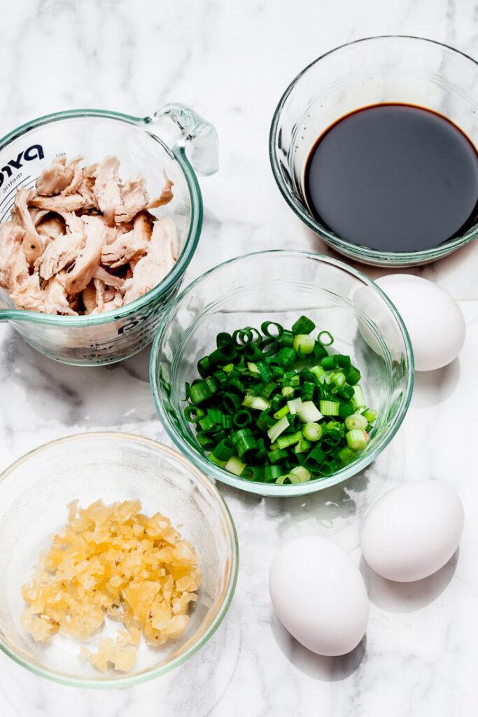 Thai Noodles Pad See Ew Ingredients