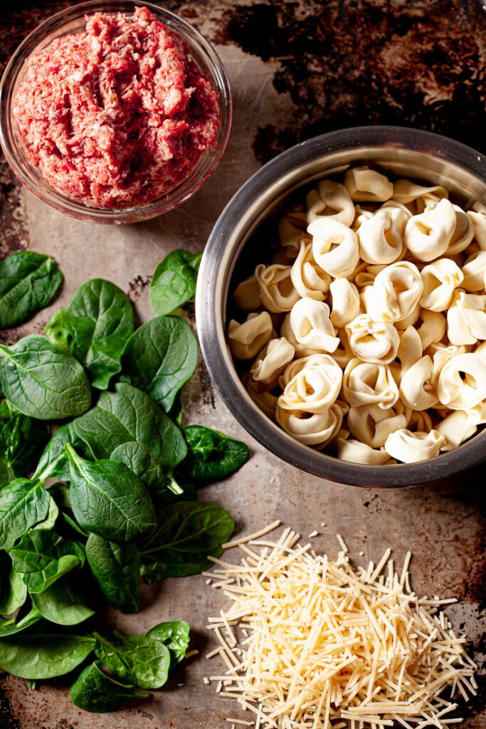 Tuscan Tortellini Ingredients