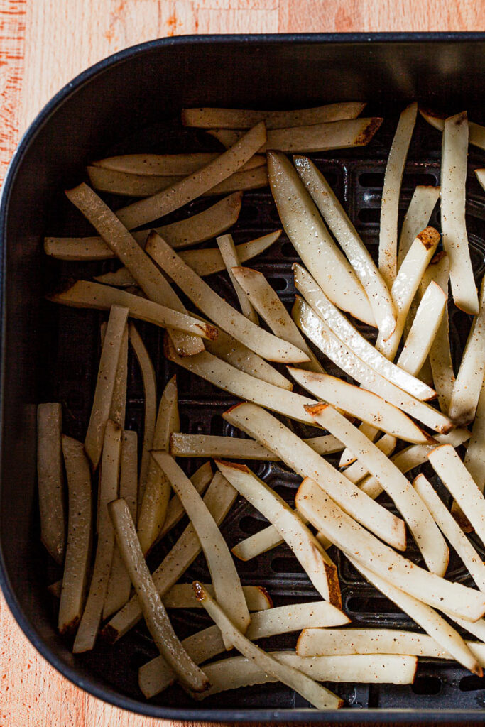 Air Fryer French Fries uncooked