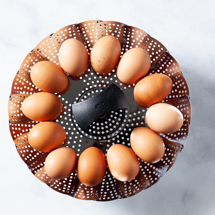 Boiled Eggs in Steamer