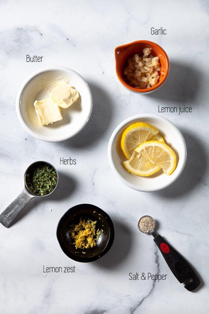 Ingredients for Mahi Mahi